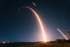 CRS-20 Falcon 9 launching the final Dragon to the International Space Station by uchida.micah.a