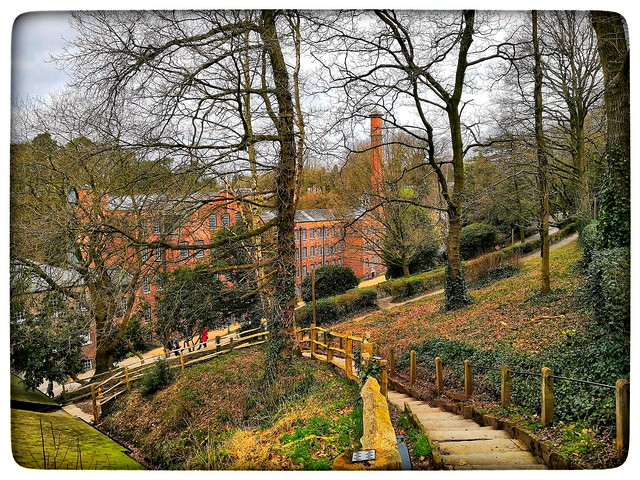 Quarry bank mill styal Cheshire march 2020