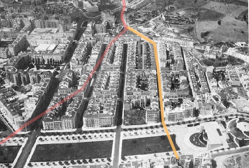 Alameda e Areeiro, Lisboa (A. Nunes, c.1950)