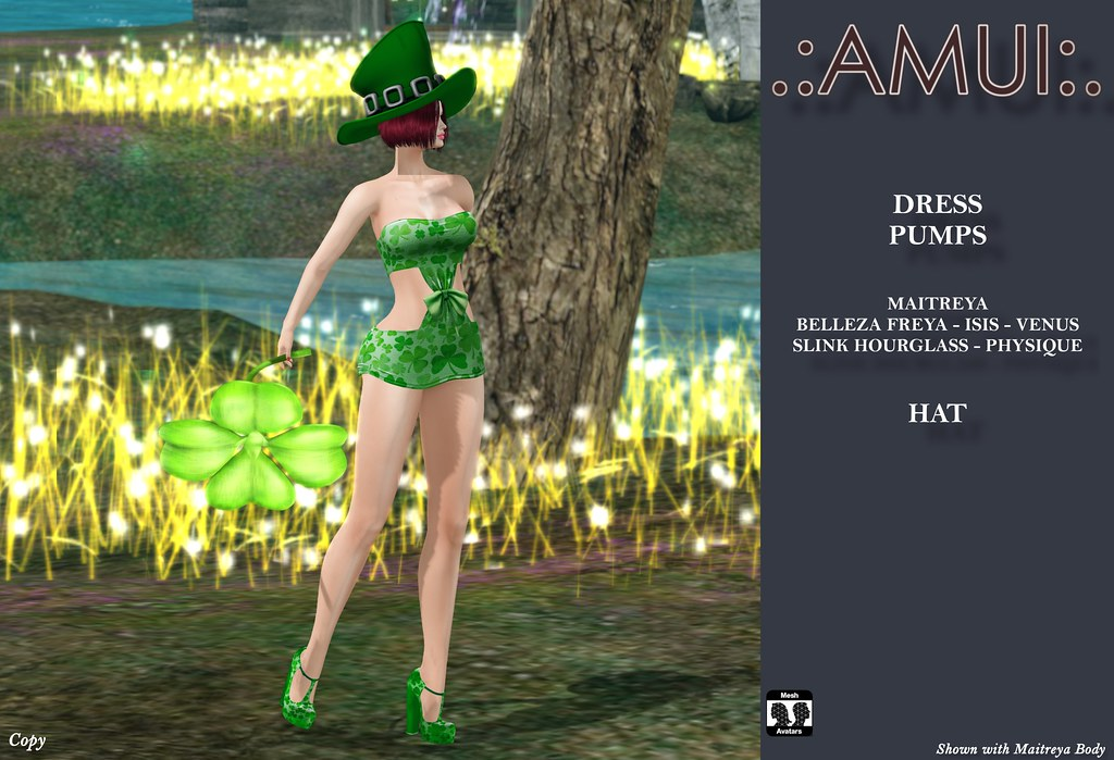 ".:AMUI:. St. Patrick's Day ""See my Clover"" Outfit"