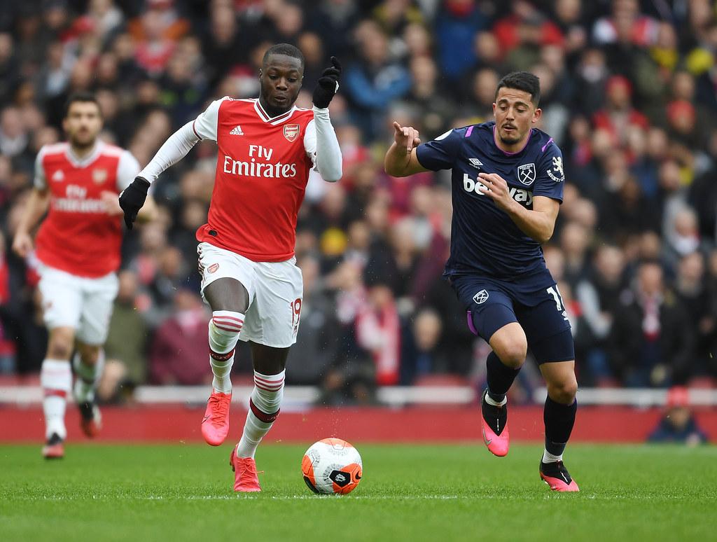 Arsenal: Nicolas Pepe not a left-winger thumbnail