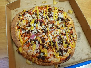 Vegan Loaded Burger from Dominos