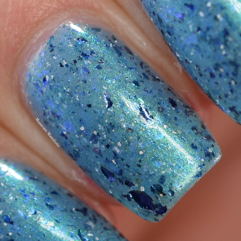 Paint It Pretty Polish Water Of The Sea swatch