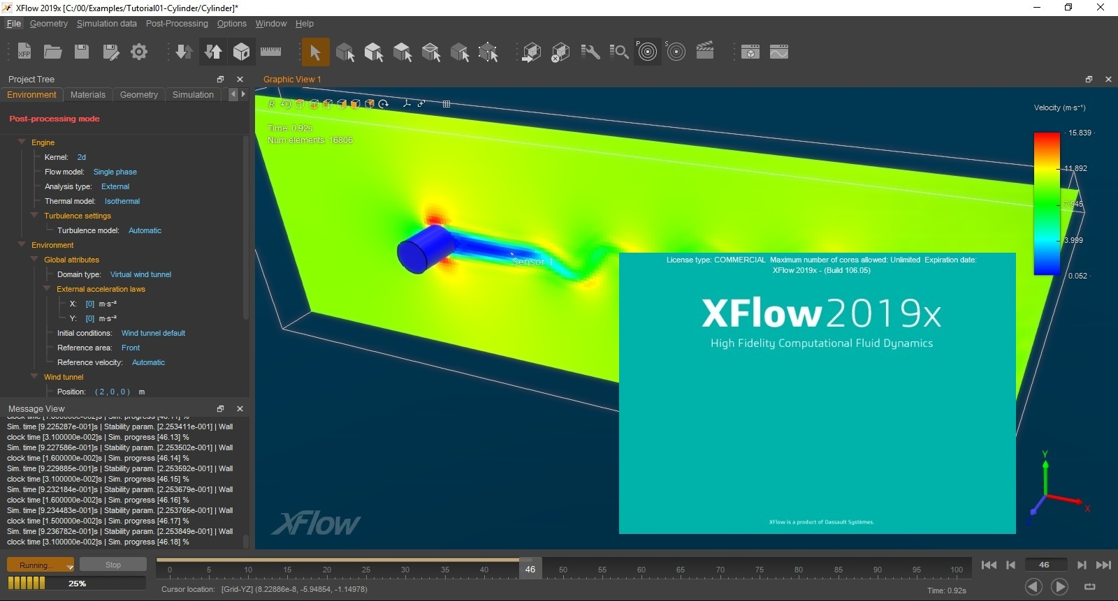 Working with DS Simulia XFlow 2019x full license