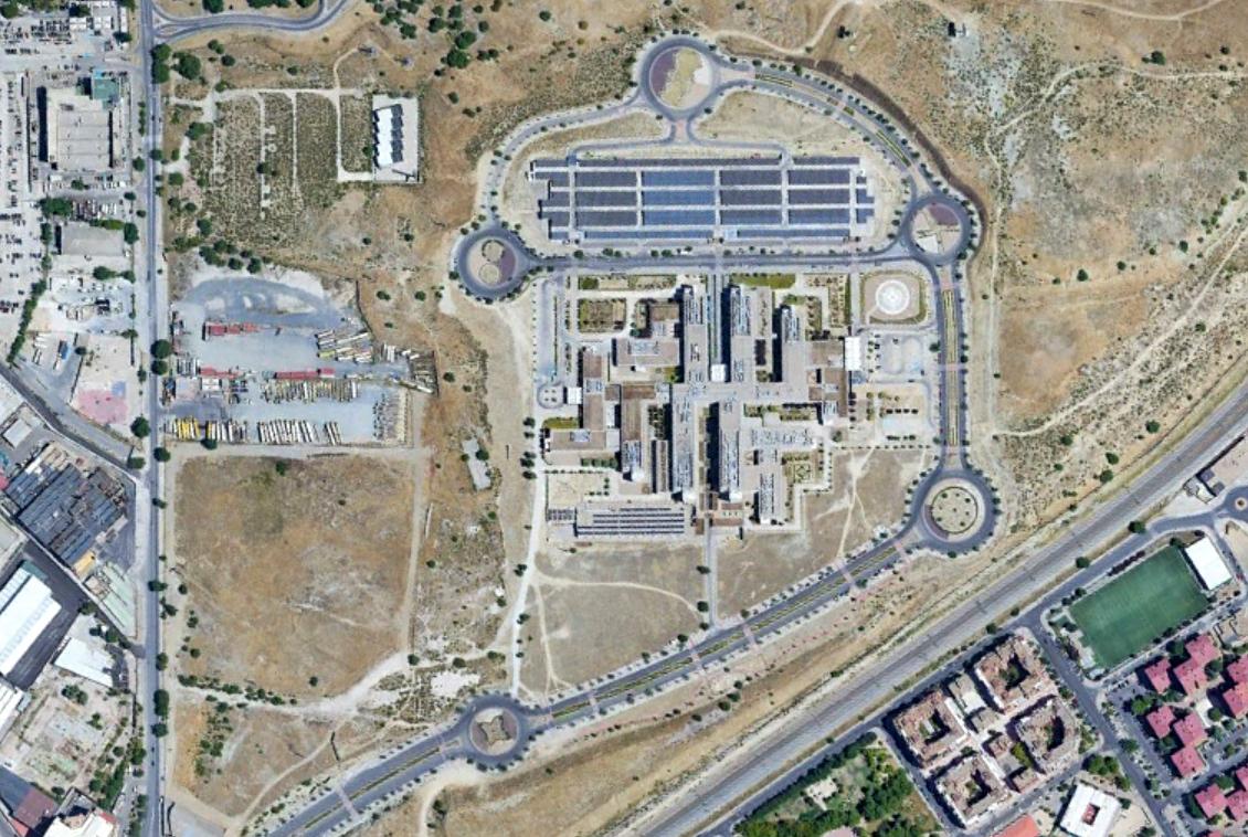 hospital infanta leonor, vallecas, madrid, un poco pronto para poner su nombre, después, urbanismo, planeamiento, urbano, desastre, urbanístico, construcción, rotondas, carretera