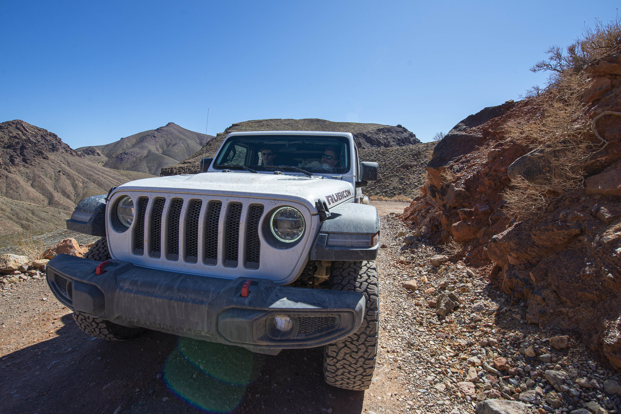 Death Valley - The Jeep Rubicon
