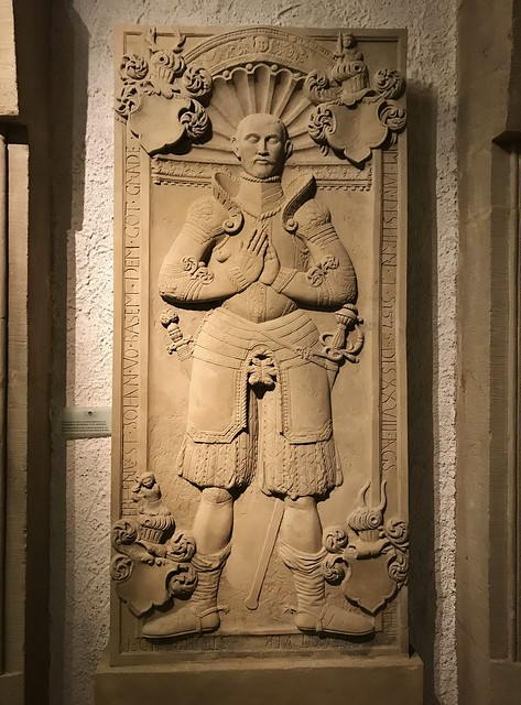 ca. 1575 - 'Johann von Basem (Basenheim) (+1575)' (workshop of Hans Bildhauer), Trier, Abbaye (Reichsabtei) d'Echternach, Echternach, Grand Duchy of Luxembourg