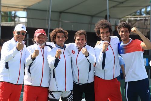 Guatemala-Túnez Copa Davis Playoff Grupo Mundial II