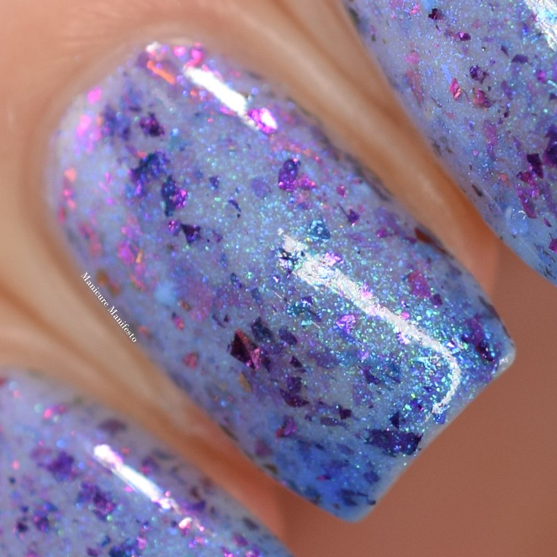 Paint It Pretty Polish Out With The Cold swatch