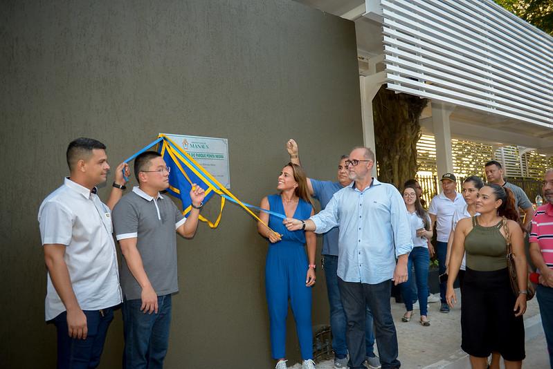 07.03.20 Prefeitura inaugura nova praça dos Cocos na Ponta Negra