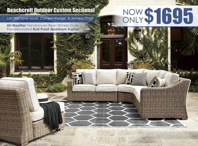 Beachcroft Outdoor Sectional Special_P791-854-851-846