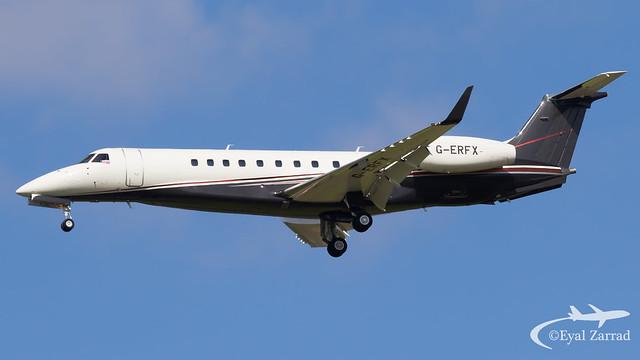 TLV - FlexJet Embraer Legacy 600 G-ERFX