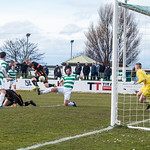 Before Ross Still fires in the rebound and evades a high challenge from Lewis MacKinnon