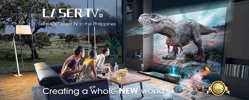 Laser TV KV