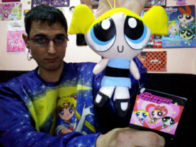Powerpuff Girls - Bubbles Plush / Peluche de Burbuja (Supernenas)