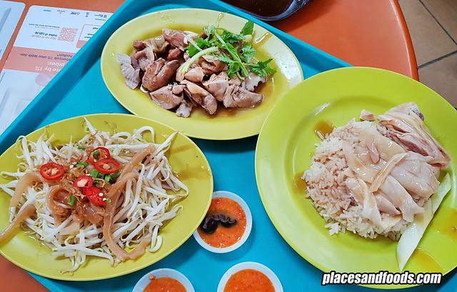 tian tian hainanese chicken maxwell foodcourt
