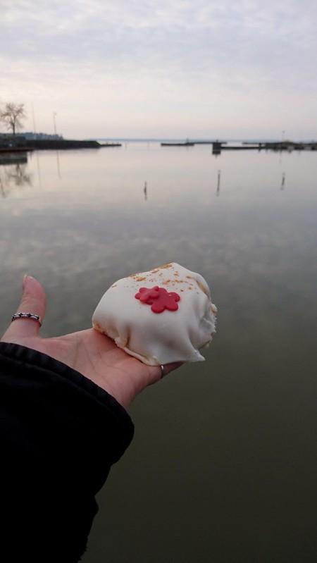 Födelsedagslördag och finfika vid Göta kanal
