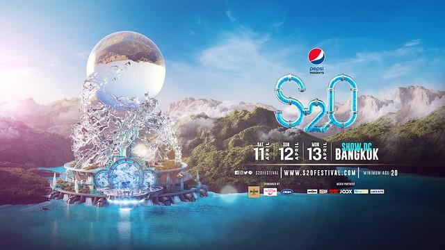 s20 songkran music festival 2020