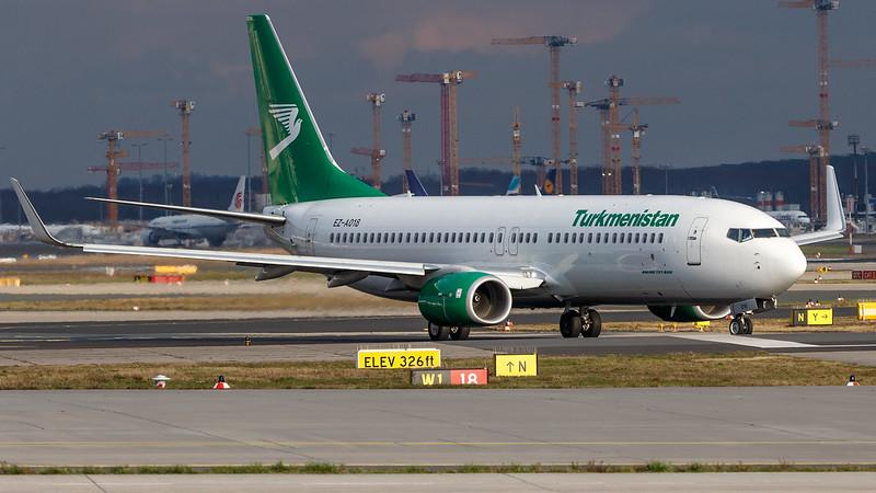 EZ-A018 Turkmenistan Airlines B738 FRA