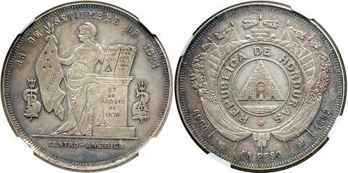 Honduras 1882