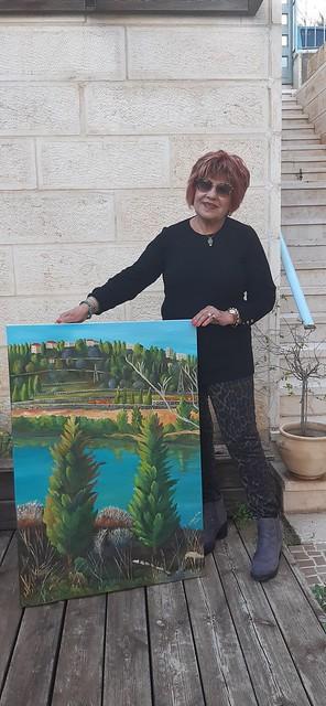 פרידה פירו Frida piro ציירת ישראלית אמנית מודרנית עכשווית ריאליסטית אמנות פלסטית ציירות אמניות מודרניות