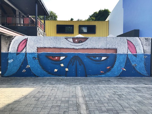 サムイ島 Street Art by Alex Face