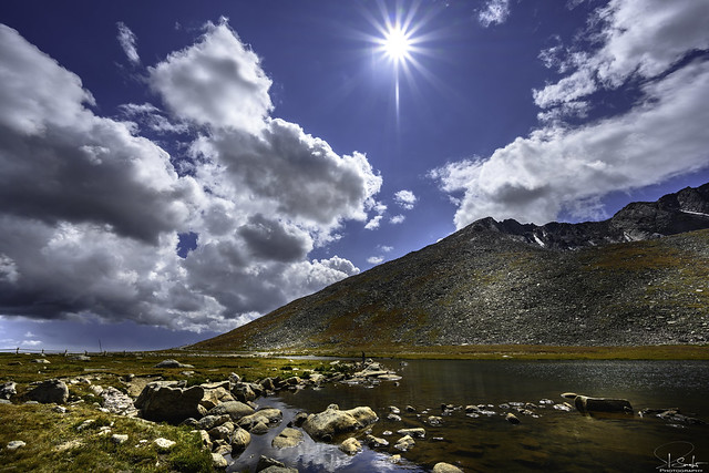 Summit Lake view - Colorado - USA
