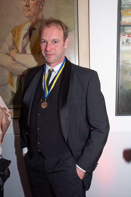 Jan van Mersbergen kreeg een medaille