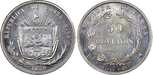 Costa Rica 1889