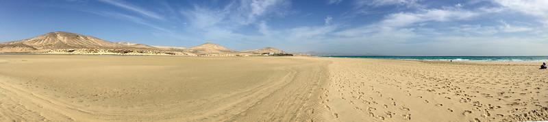Sotavento Beach panaorama