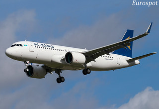 F-WWIJ Airbus A320 Neo Air Astana