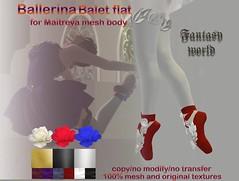 {Fanatasy world} Ballerina - ballet flat [Maitreya]
