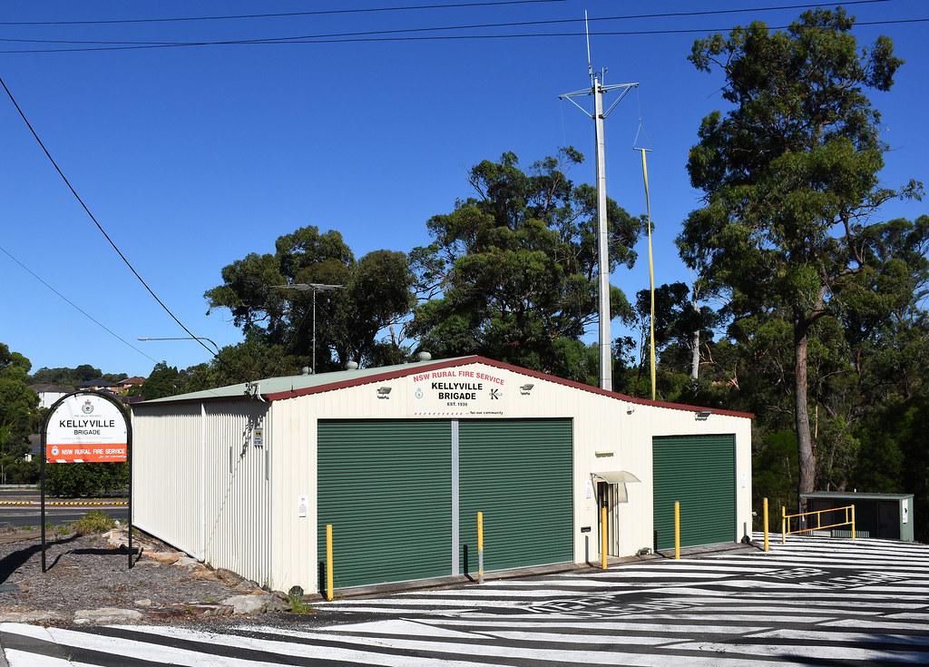 Kellyville Rural Fire Services, Kellyville, Sydney, NSW.
