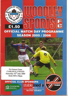 Woodley Sport V Carlisle United 16-7-2005 | by cumbriangroundhopper