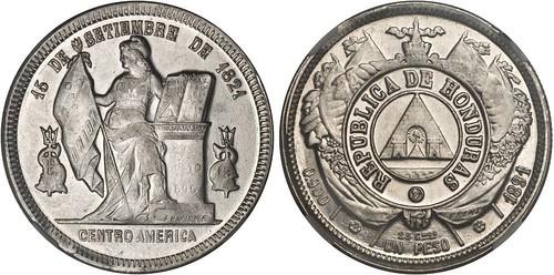 Honduras 1891