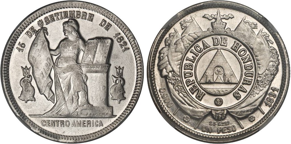 ¿Delfines? En 1 Peso de Honduras 49634237567_0eab0ee6e0_b
