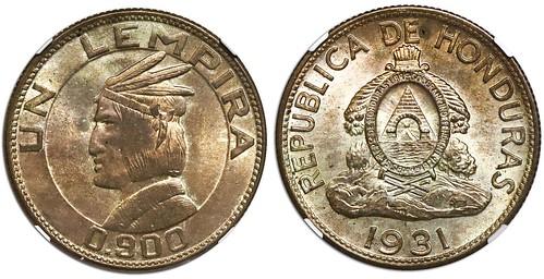 Honduras 1931