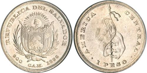El Salvador 1892