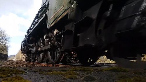 Jubliee Class 45562 Alberta Passing Copley