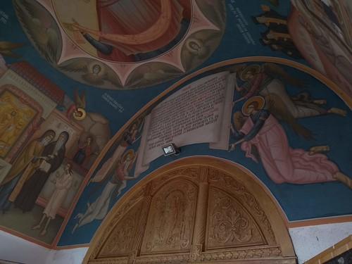 romania motorola gorovei paintings door monastery