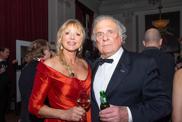 Jan Cremer met zijn vrouw Babette