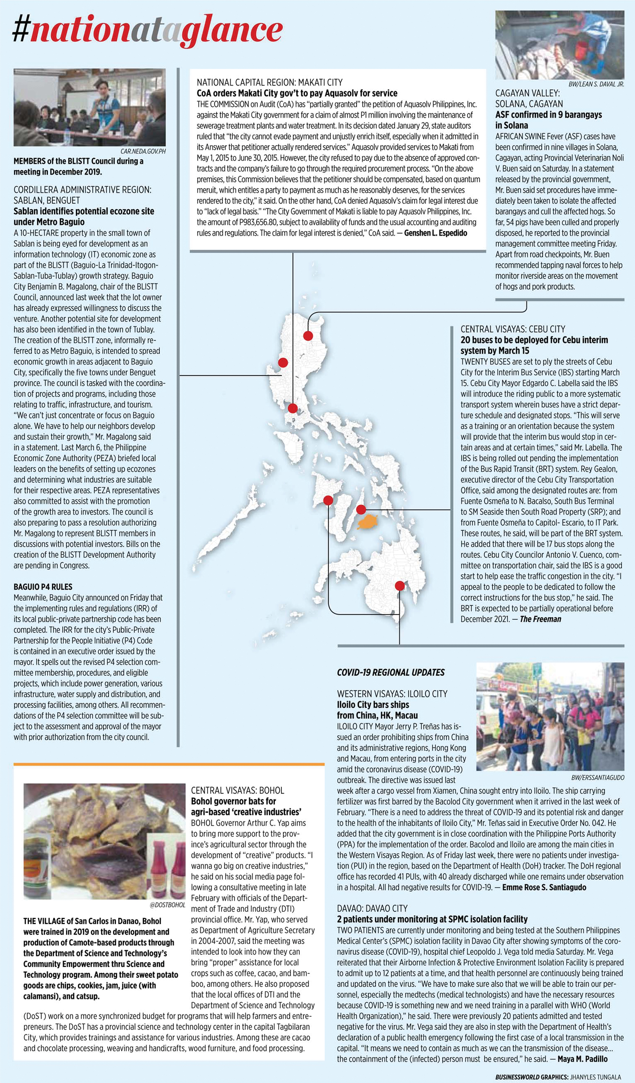 Nation at a Glance — (03/09/20)