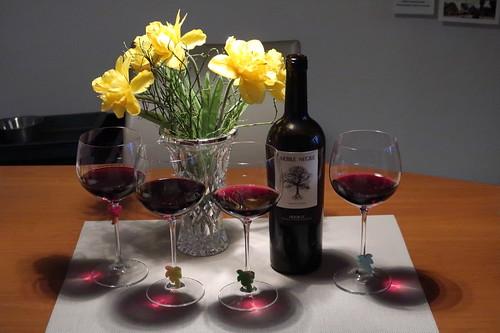 """Arbre Negre Priorat (= 2018er Rotwein von Vinos para ti) als """"Kochwein"""""""