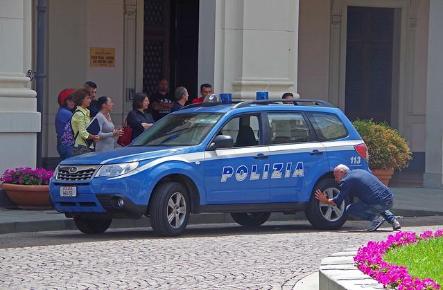 SUBARU Forester - POLIZIA Genoa Italy