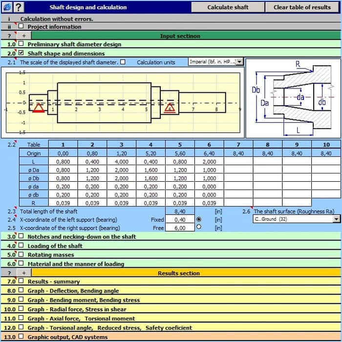 Working with MITCalc 1.74 full license