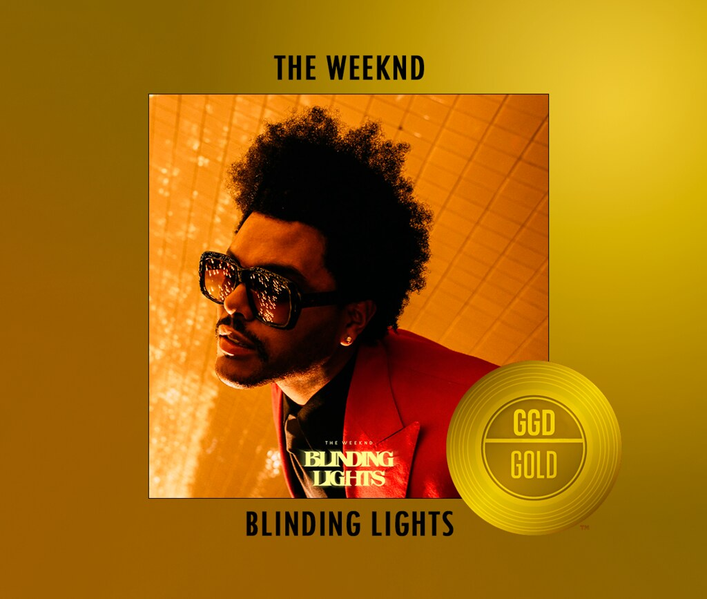 BLINDING LIGHTS GOLD