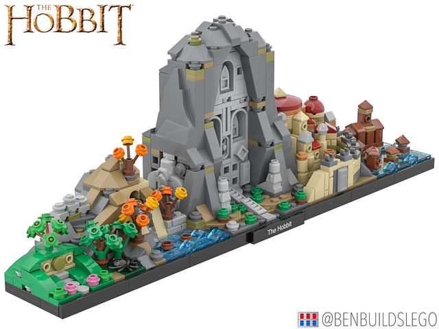 Lego The Lord of the Rings: The Hobbit Skyline (2)