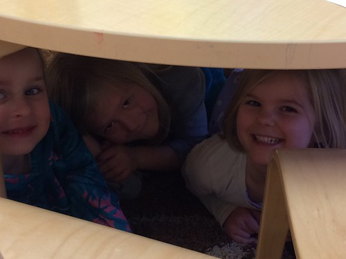 girls under the table