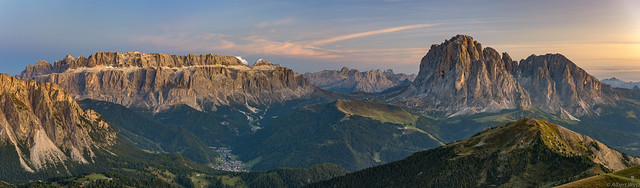 *Seceda @ the world of the Dolomites*