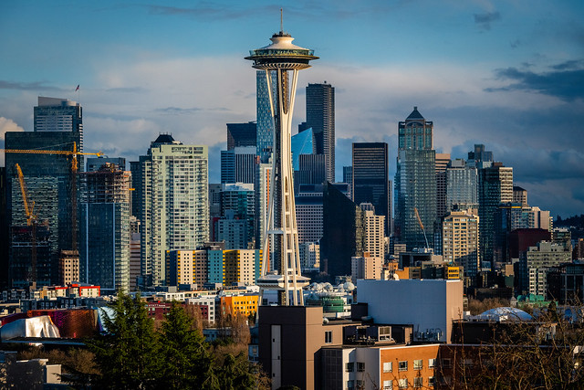 Space Needle, Kerry Park, Seattle